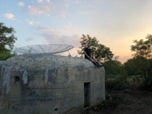 Satelitní řopík Březí u Mikulova